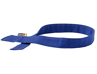 Ergodyne® Chill-Its® 6705 Evaporative Flame Resistance Cooling Bandana, Blue