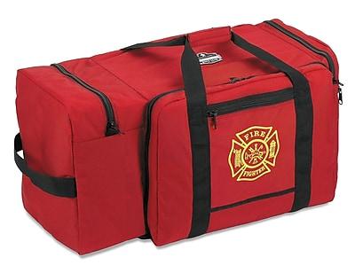 Ergodyne® Arsenal® Polyester Gear Bag With F & R Logo, Red, Large