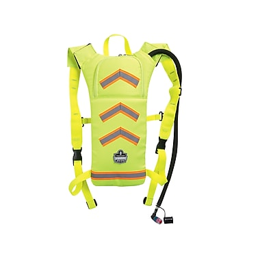 Ergodyne® Chill-Its® 5155 Hi-Visibility Low-Profile Hydration Pack, Lime