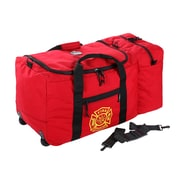 Ergodyne® Arsenal® Wheeled Gear Bag With F & R Logo, Red