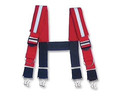 Ergodyne® Arsenal® 5093 Reflective Quick Adjust Suspenders, Red, 42
