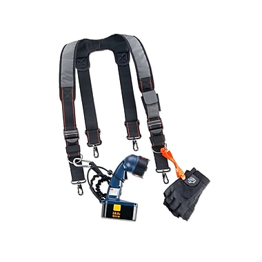 Ergodyne® Arsenal® Padded Tool Belt Suspenders, Gray, 4 1/2