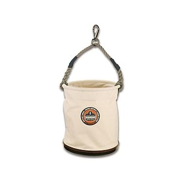 Ergodyne® Arsenal® White Plastic Bottom Buckets With Swivel Handle