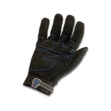 Ergodyne® ProFlex® 817 Black Synthetic Leather Thermal Utility Gloves