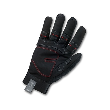 Ergodyne® ProFlex® 810 Synthetic Leather Utility Plus Gloves, Black, Small