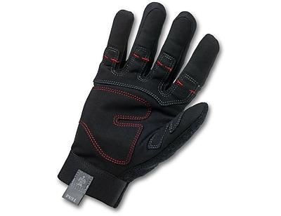 Ergodyne® ProFlex® 810 Synthetic Leather Utility Plus Gloves, Black, 2XL