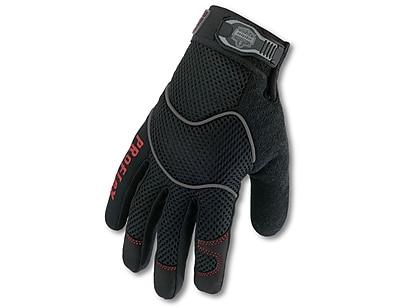 Ergodyne® ProFlex® 812 Synthetic Leather Utility Gloves, Black, Medium