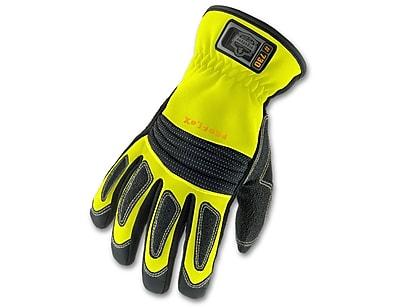 Ergodyne® ProFlex® 730 Fire & Rescue Performance Gloves, Lime, XL
