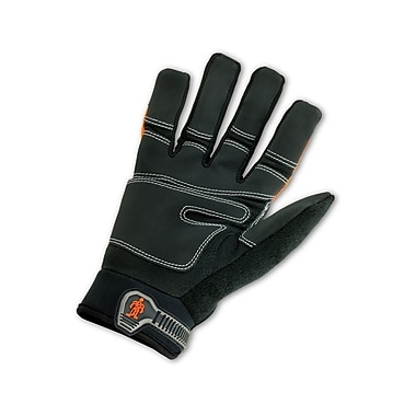 Ergodyne® ProFlex® 876 Synthetic Leather Hi-Visibility Thermal Waterproof Gloves, Orange, 2XL
