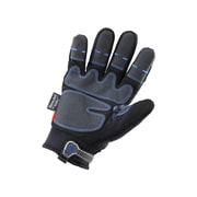 Ergyne® ProFlex® 818 Black Synthetic Leather Thermal Waterproof Utility Gloves With Outdry