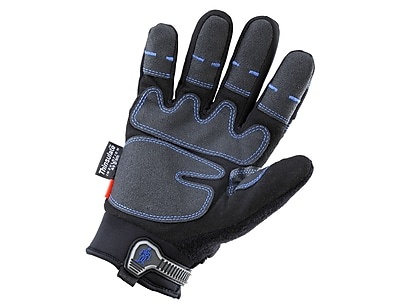 Ergyne® ProFlex® 818 Synthetic Leather Thermal Waterproof Utility Gloves With Outdry, Black, 2XL