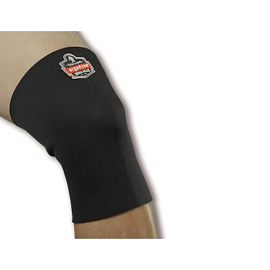 Ergodyne® ProFlex® Black Single-Layer Neoprene Knee Sleeves