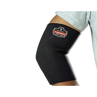 Ergodyne® ProFlex® Neoprene Elbow Sleeve, Black, Medium