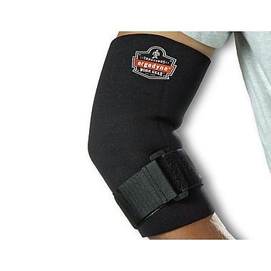 Ergodyne® ProFlex® Neoprene Elbow Sleeve With Strap, Black, Small