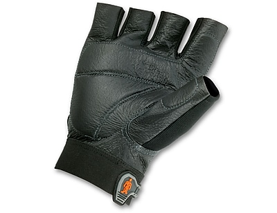 Ergodyne® ProFlex® 900 Impact Gloves, Black, Small, 1 Pair