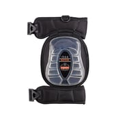 Ergodyne® ProFlex® Injected Gel Knee Pad With Broad Cap, Black