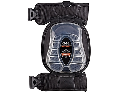 Ergodyne® ProFlex® Injected Gel Knee Pad With Broad Cap, Black