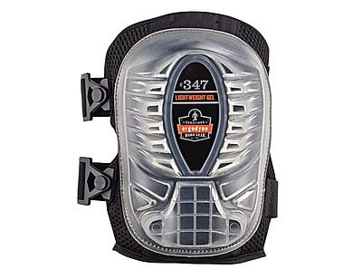 Ergodyne® ProFlex® Lightweight Gel Knee Pad With Long Cap, Black