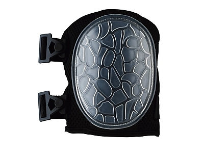 Ergodyne® ProFlex® Lightweight Gel Knee Pad With Low-Profile Cap, New Black