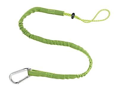 Tenacious® Ergodyne Squids® 3100 Single Lime Carabiner Tool Lanyard