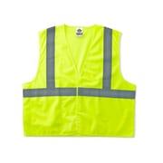 Ergodyne® GloWear® 8225HL Class 2 Hi-Visibility Standard Vest, Lime, 2XL/3XL