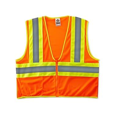 Ergodyne® GloWear® 8229Z Orange Class 2 Hi-Visibility Economy Two-Tone Vests