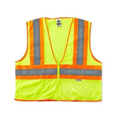 Ergodyne® GloWear® 8230Z Two-Tone Vest, Large/XL