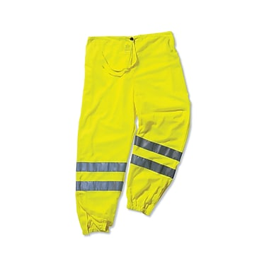 Ergodyne® GloWear® 8910 Class E Hi-Visibility Pant, Lime, Small/Medium