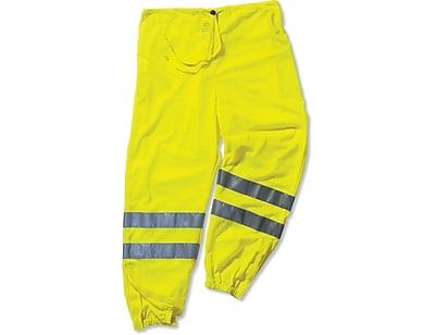 Ergodyne® GloWear® 8910 Class E Hi-Visibility Pant, Lime, Small/Medium