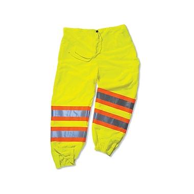 Ergodyne® GloWear® 8911 Class E Two-Tone Pant, Lime, Large/XL