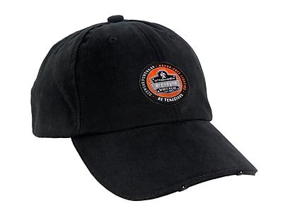 Ergodyne® GloWear® 8940 PowerCap™ Hi-Visibility Headwear, Black