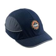 Ergodyne® Skullerz Nylon Taslan Short Brim Bump Cap, Navy