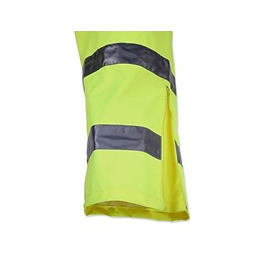Ergodyne® GloWear® 8915 Class E Hi-Visibility Rain Pant, Lime, XL