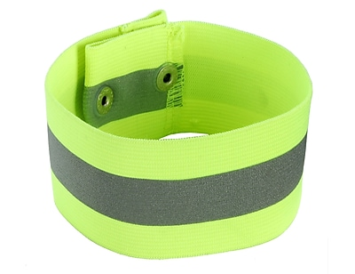 Ergodyne® GloWear® 8001 Hi-Visibility Arm/Leg Band, Lime, Large/XL