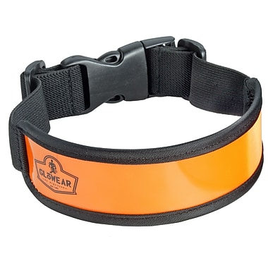 Ergodyne® GloWear® 8003 Hi-Visibility Arm/Leg Band, Orange, One Size