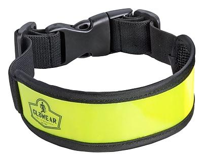 Ergodyne® GloWear® 8003 Lime Elastic Arm/Leg Band, One Size