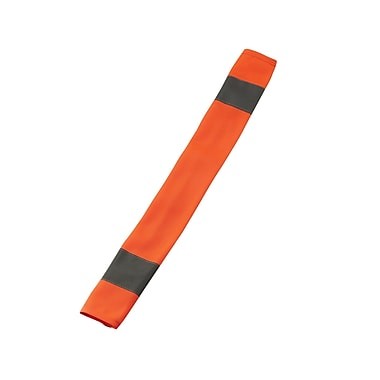Ergodyne® GloWear® 8004 Hi-Visibility Seat Belt Cover, Orange, One Size