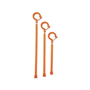 Ergodyne® Squids® 44 lbs. Tie Hooks With Large Locking Hook Attachment