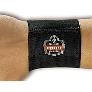 Ergodyne ProFlex 400 Elastic Universal Wrist Wrap, One Size Fits Most, 6/Carton (72102)