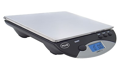 American Weigh Scales AMW-13 Digital Postal/Kitchen Scale, Black