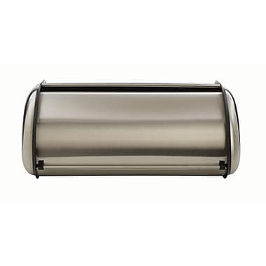Anchor Hocking® Euro Design Bread Box, Stainless Steel