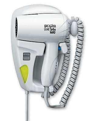 Andis 1600W Hang Up Dryer with Light; White