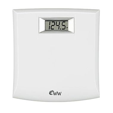 Conair® Weight Watchers® WW204W Compact Precision Electronic Scale, White