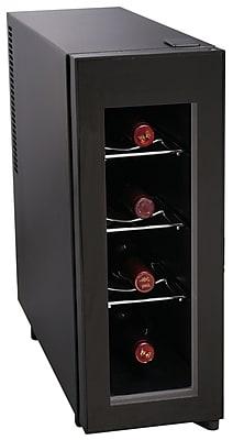 Igloo® Vertical Wine Cooler, 4 Bottle, Black
