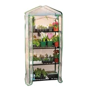 "Gardman 5'3"" 4 Tier Polypropylene Mini Greenhouse"