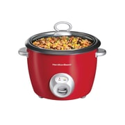 Hamilton Beach® 20 Cup Rice Cooker, Red