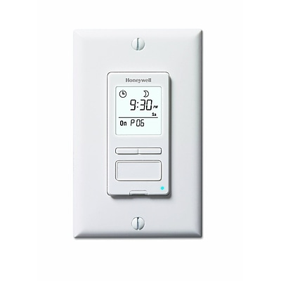 Honeywell® ECONOSwitch® 7 Day Programmable Light Switch Timer, White