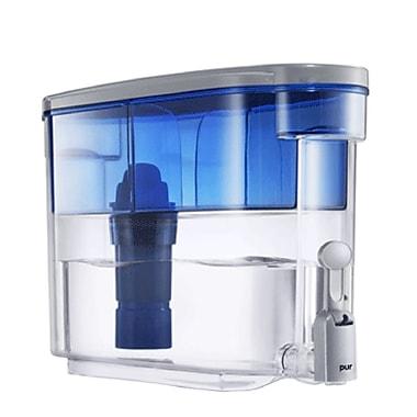 Kaz PUR 2 Stage Water Filter Dispenser, 1.125 gal, Blue