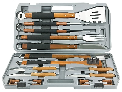 Mr. Bar-B-Q® Gourmet Stainless Steel Tool Set, 18 Pieces/Set