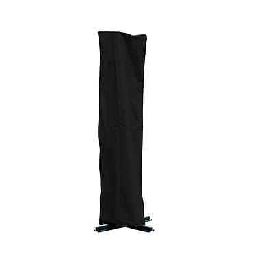 Mr. Bar-B-Q® Backyard Basics™ Offset Umbrella Cover, Black